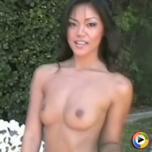 Catxoxo: libidinous asian beauty cat xoxo takes off her bra and teases with her perky perfect breasts.
